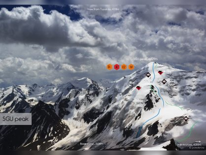 Peak SGU – Freeride from a majestic four-thousander