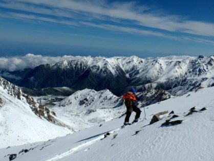 Peak Turan - Freeride around the Big Almaty Lake