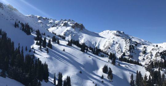 Ketmen ridge skitour programme