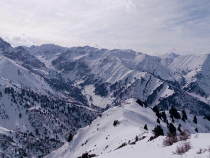 ТОП-3 зимних бэккантри-спота Алматы